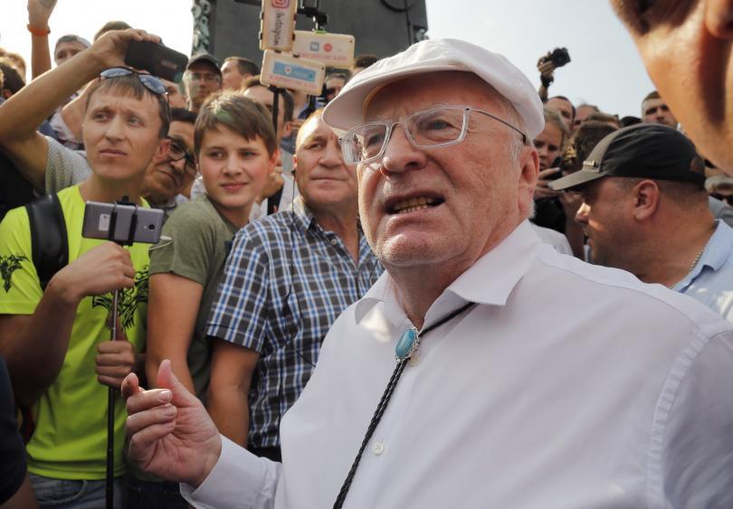 снимка 4 Масови протести срещу пенсионната реформа в Русия