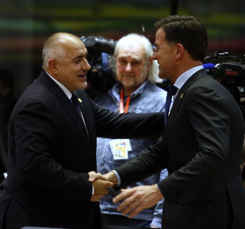 снимка 2 Борисов и лидерите на ЕС обсъждат новата финансова рамка (ГАЛЕРИЯ)