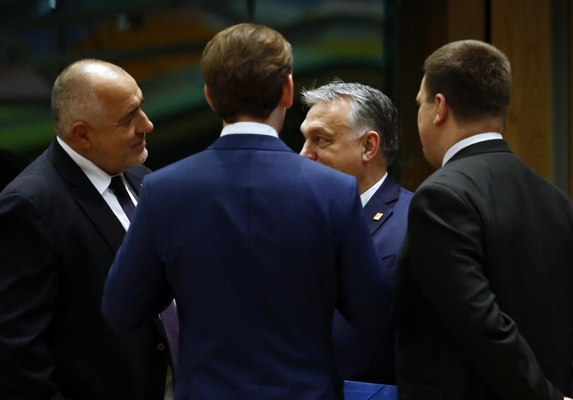 снимка 3 Борисов и лидерите на ЕС обсъждат новата финансова рамка (ГАЛЕРИЯ)