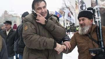 Експулсираният от Украйна Михаил Саакашвили пристигна в Полша