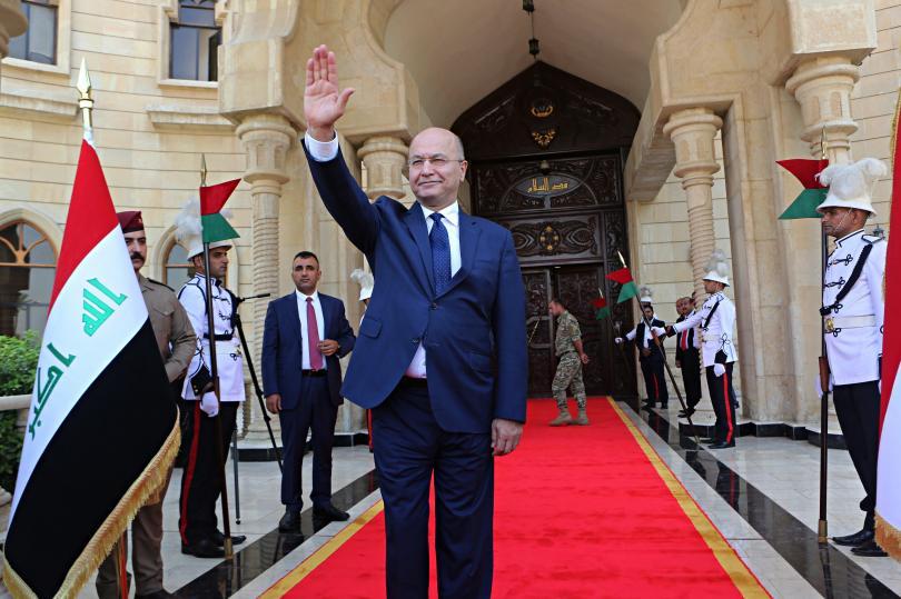 снимка 1 Бархам Салих е новият президент на Ирак