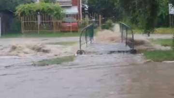 Бедствено положение заради наводнение в Самоков