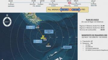Самолет с 38 души на борда изчезна в Чили