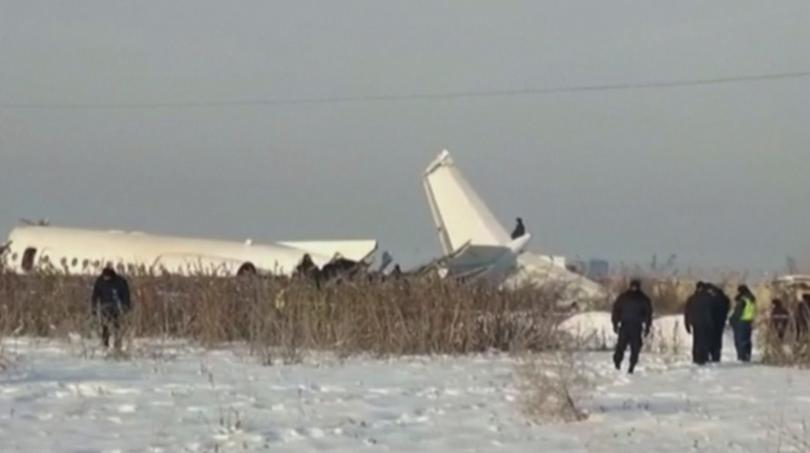 Резултат с изображение за Авиокатастрофата в Казахстан: Сред жертвите има и деца