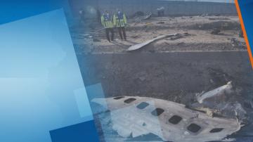 Твърдения за ракетен удар срещу катастрофиралия украински самолет в Иран