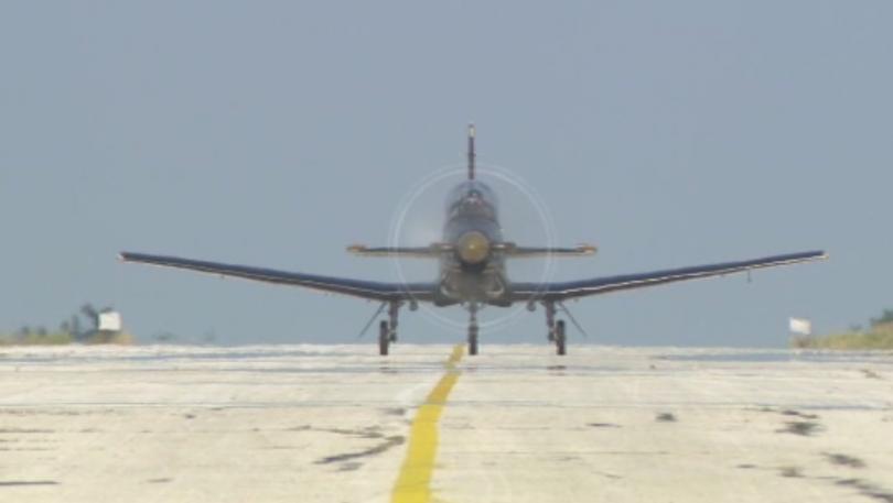 Курсантите-летци първи курс във факултет Авиационен в Долна Митрополия проведоха