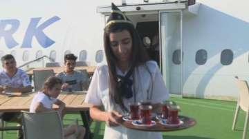 Самолет беше превърнат в ресторант в Турция