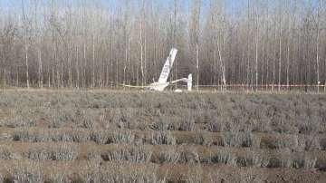Двама души пострадаха при неуспешно приземяване на малък самолет край Русенско
