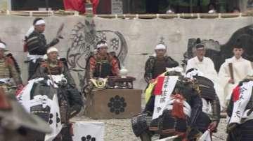 Фестивал на самураи-конници в Япония