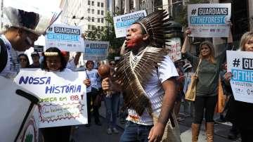 Хиляди излязоха на протест в Сан Франциско срещу климатичните промени