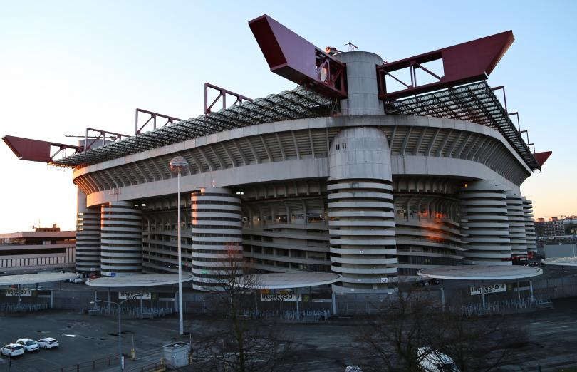 """""""Сан Сиро"""", домът на италианските грандове Милан и Интер и"""