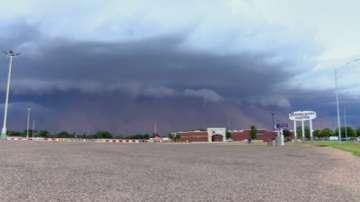 Пясъчна буря в Тексас