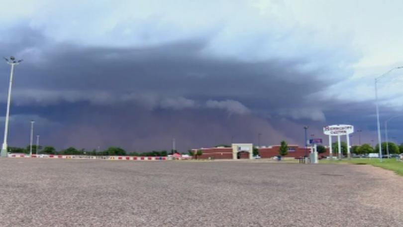 пясъчна буря тексас