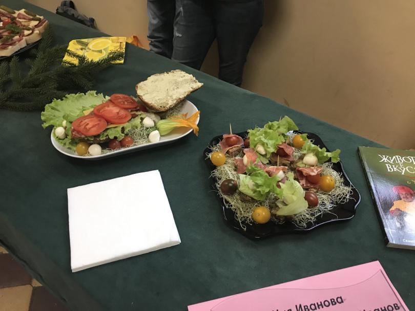 снимка 4 Състезание за най-здравословен сандвич се проведе в столично училище