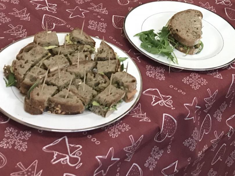 снимка 3 Състезание за най-здравословен сандвич се проведе в столично училище