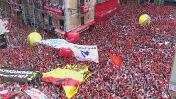 Започна празникът на Сан Фермин в Памплона