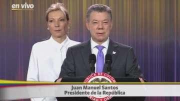 Колумбийският президент дарява паричната премия от Нобеловата награда