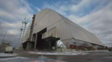 Монтират метален купол над Чернобилската АЕЦ