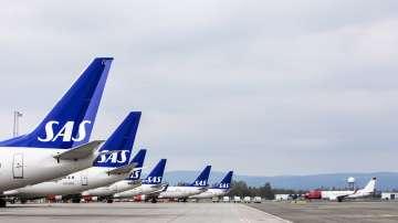 Скандинавските авиолинии САС отменят над 1200 полета в понеделник и вторник
