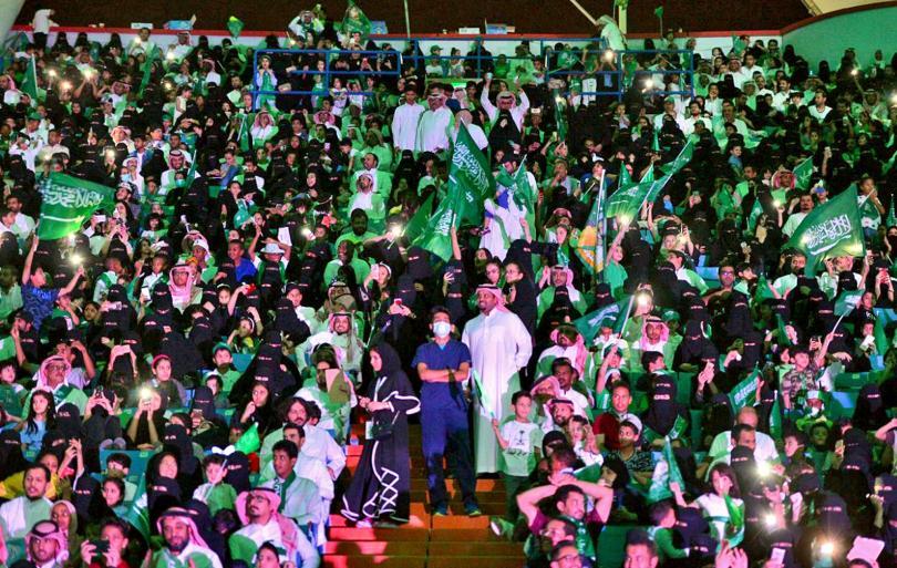Саудитките вече могат да гледат футбол! Саудитска Арабия позволи на