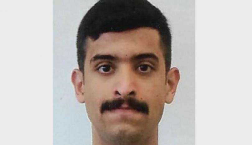 ФБР разпространи снимка на саудитския студент, стрелял в американска военна