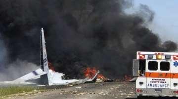 Петима загинаха при катастрофа на военен самолет в Джорджия