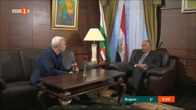 Самех Шукри пред БНТ: Египет е в период на съживяване