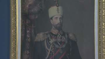 Литография на откупения портрет на Батенберг се съхранява в НВИМ - София