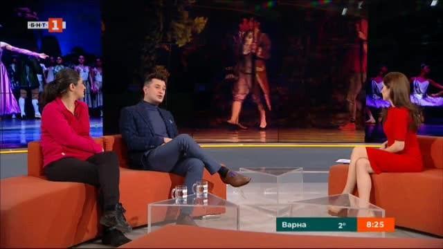 Водещият на БНТ1 Георги Любенов ще се изяви като балетист