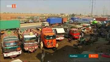 Пакистански камиони като произведения на изкуството