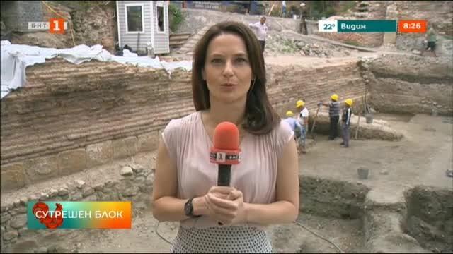 Нови археологически находки от Римско време бяха открити в София.
