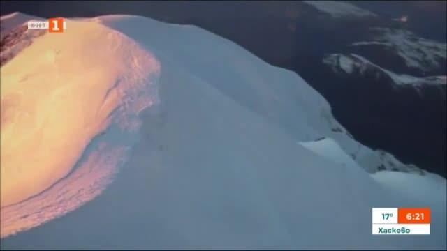 Снимка: Ограничават броя на алпинистите към Монблан