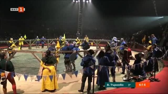Битки с рицарски доспехи наблюдаваха в Монако. Те бяха част