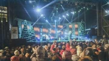 Започна подготовката за празничния концерт Сцена под звездите