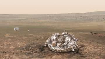 Кацането на Скиапарели на Марс не е преминало гладко