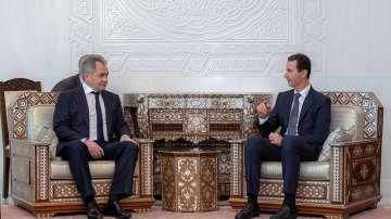 Руският министър на отбраната на визита в Дамаск с послание от Путин за Асад