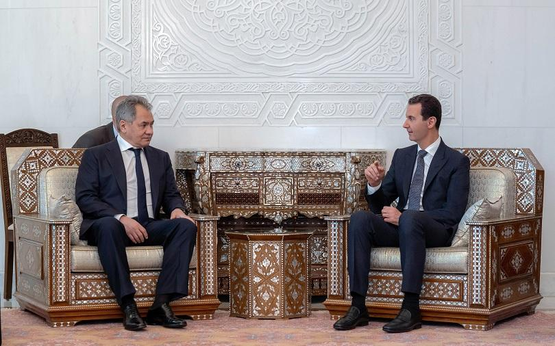 Руският министър на отбраната Сергей Шойгу е посетил Дамаск, където