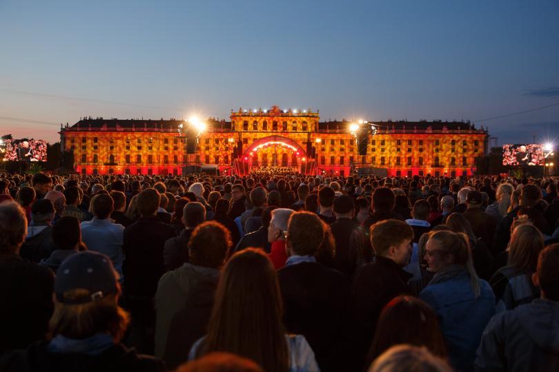 Концерт на Виенската филхарония пред Шьонбрун, 2017