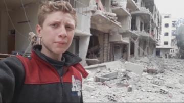 Мохамед - детето - репортер от фронта в Сирия