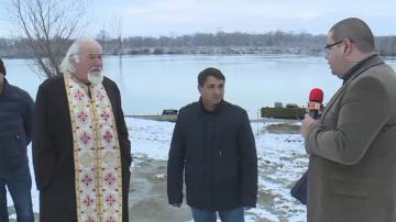 За първи път в Сандрово изпълняват ритуала със спасяване на Богоявленския кръст