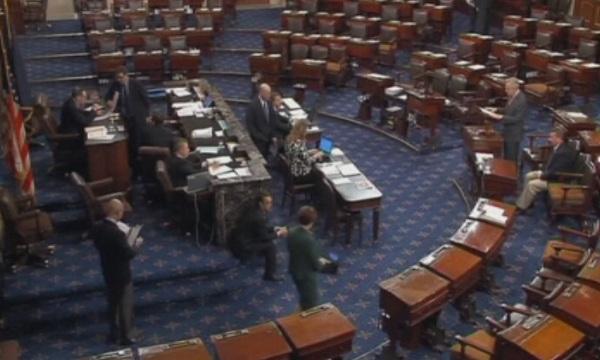 След разгорещени дебати, продължили повече от шест часа, 41 сенатори