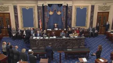 Сенатът на САЩ стартира процедурата за импийчмънт на Тръмп