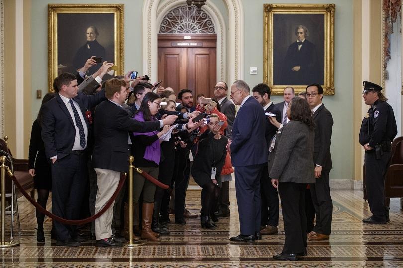 Сенатът на Съединените щати отхвърли няколко искания на демократите в