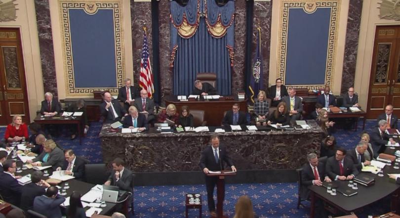 В американския Сенат приключва излагането на аргументи за импийчмънт на