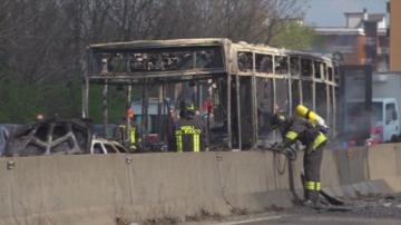 Ученически автобус беше похитен в Северна Италия, децата са невредими