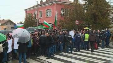 Протест в защита на кмета на Септември