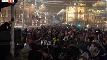 Протести в Сърбия срещу президента Вучич