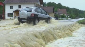 Извънредно положение заради проливни дъждове в Сърбия