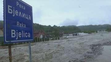 В Централна Сърбия обявиха бедствено положение заради дъждовете