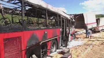 Четирима души загинаха при автобусна катастрофа в Сърбия